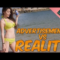 Reklám vs valóság :D