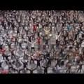 Flashmob - Antwerpen, vasútállomás