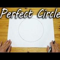 Így rajzolj tökéletes kört szabad kézzel: