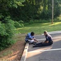 Rendőrtiszt nyugtatta meg az öngyilkosságra készülő autista diákot