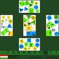 10 szimbólum/kártyalap - 91 db kártyalap - dobble