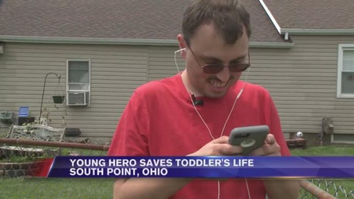 Alig beszélő autista férfi mentette meg a kisbaba életét