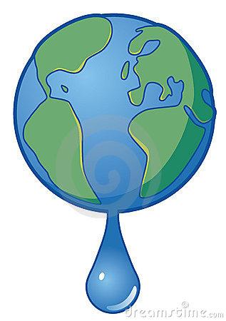 Nem folyik ki a víz a Földről?