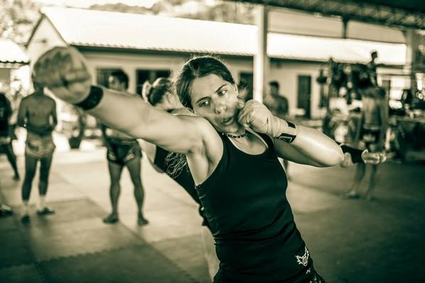 MMA harcossá lett autista nő