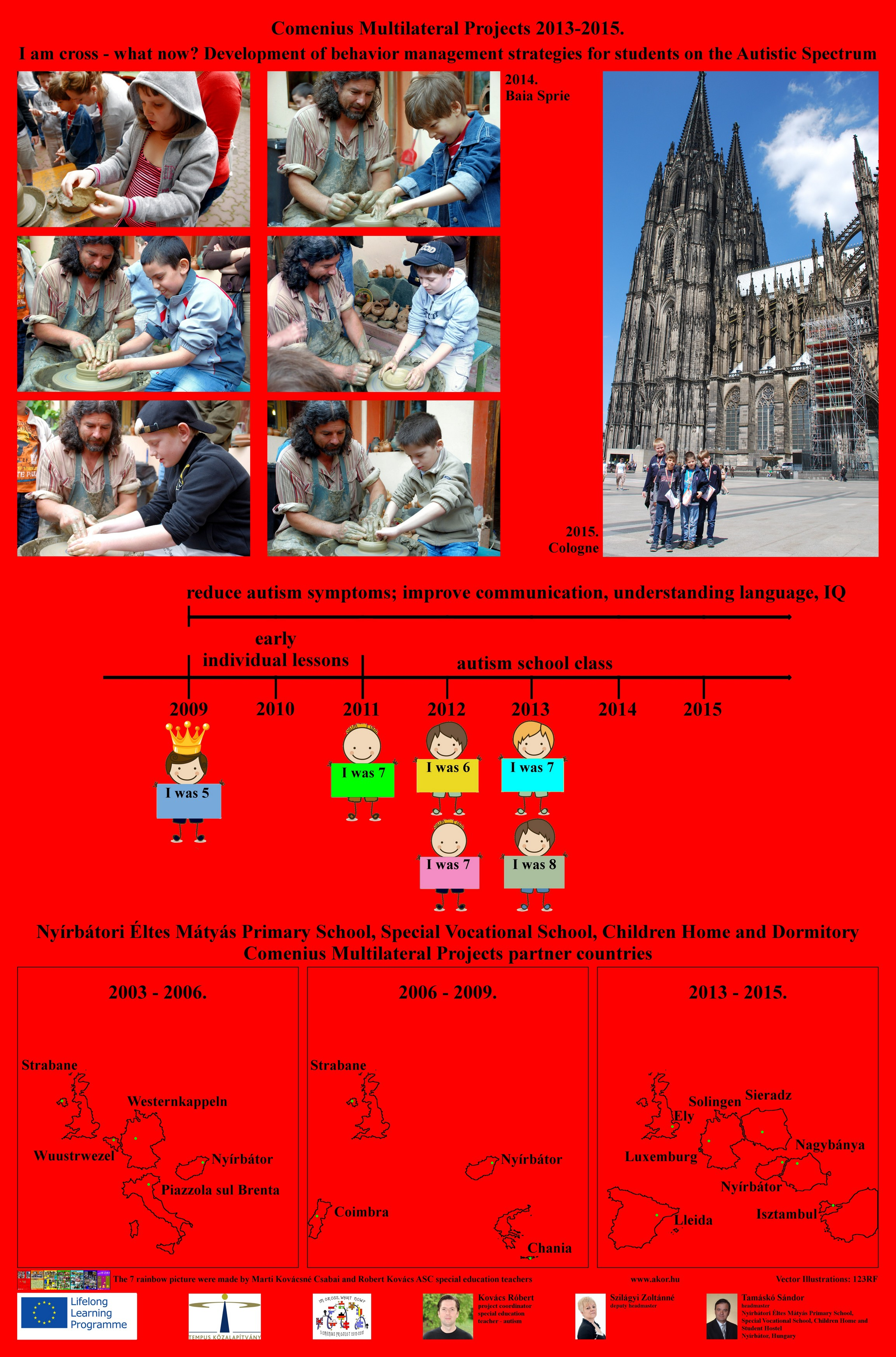 Autism - Comenius project 1. picture