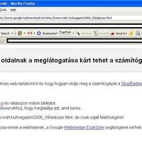 Beszolt a Google