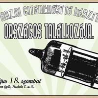 Hazai hangszerkészítők találkozója Győr underground központjában