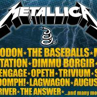 Metallica, Slayer, Mastodon, Machine Head a 2012-es Novarockon