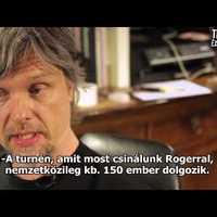 Budapesten tetováltatott Roger Waters turnémenedzsere