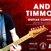 November első hétfőjén Andy Timmons workshop az Analog Music Hallban