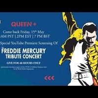 Két napig ingyen nézhető a legendás Freddie Mercury-emlékkoncert