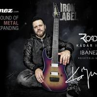 Kádár Imi, a Road gitárosa az Ibanez legújabb magyar endorsere