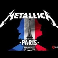 Most egy 2017-es párizsi koncertet streamelt a Metallica