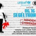 Unicef Segélykoncert a Budapest Parkban - Itt a fellépők névsora