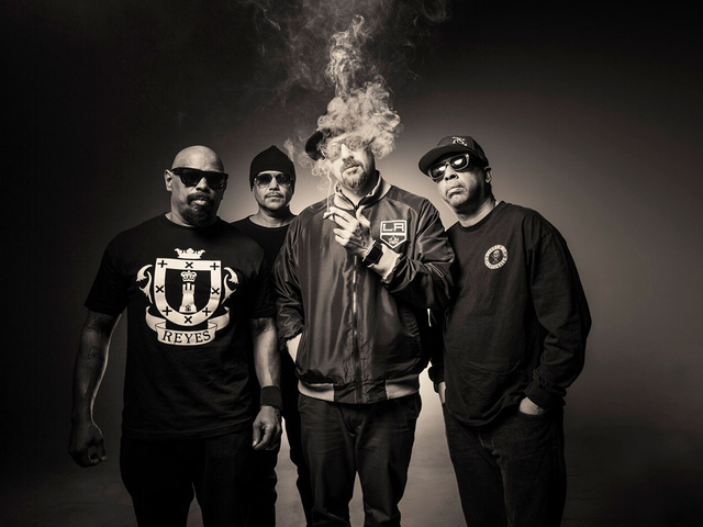 Cypress Hill és Black Eyed Peas a Volton
