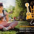 Hawaii hangulat az őszben - Ortega Ukulele Workshop Turné CéAnne főszereplésével