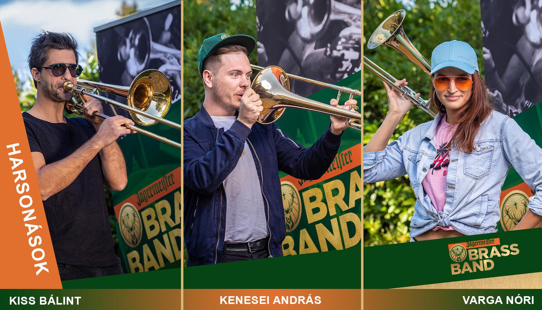 Jägermeister Brass Band – Ismerd meg a jelölteket!