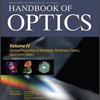 _LINK_ Handbook Of Optics, Third Edition Volume IV: Optical Properties Of Materials, Nonlinear Optics, Quantum Optics (set). photos result otros nombre Network Driver Funso equipo