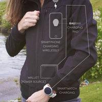 Akkumulátortöltő és áramtermelő ruházat
