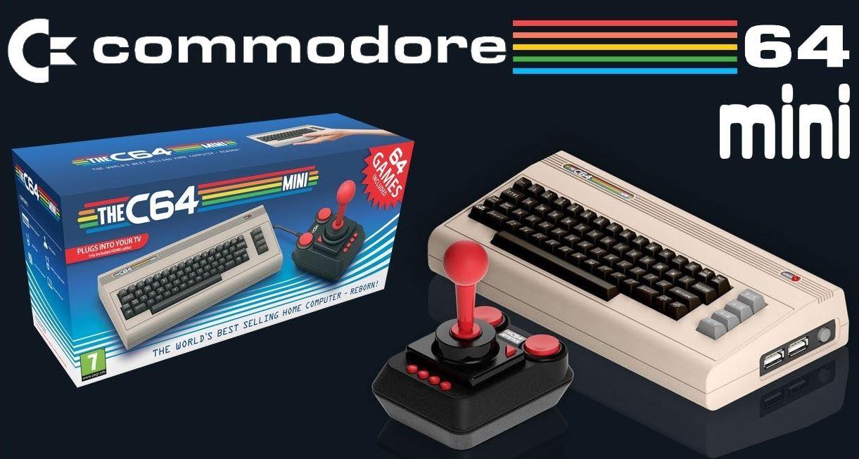 commodore c64 mini
