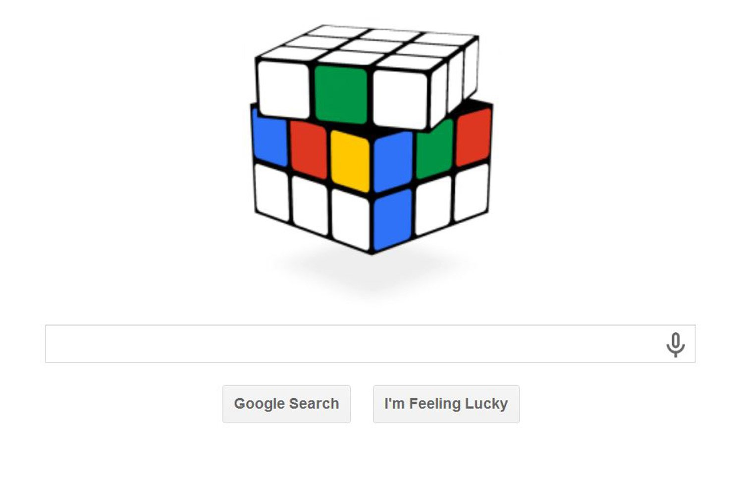 google rubic doodle