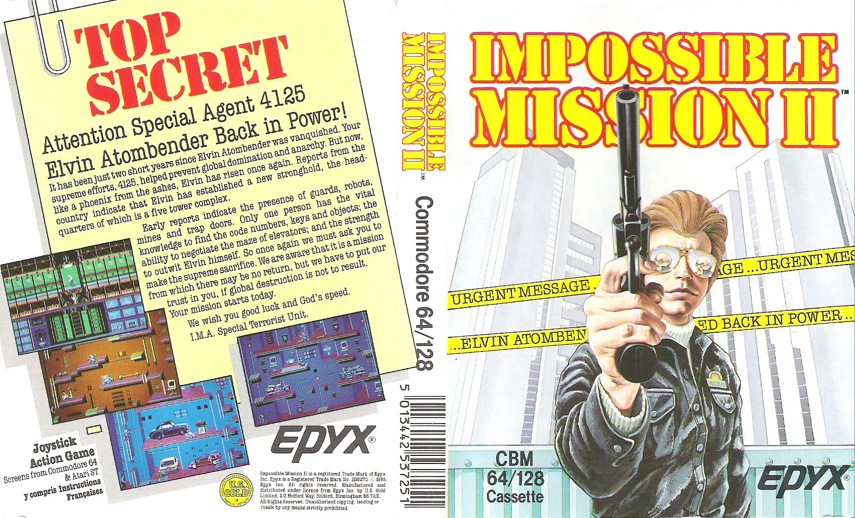 impossible mission 2 eredeti