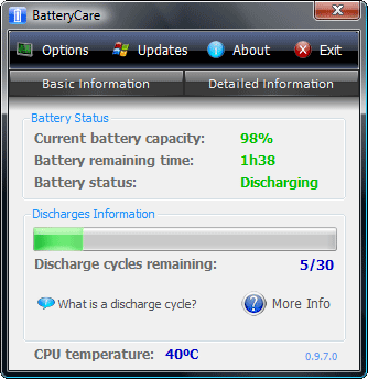 laptop battery care