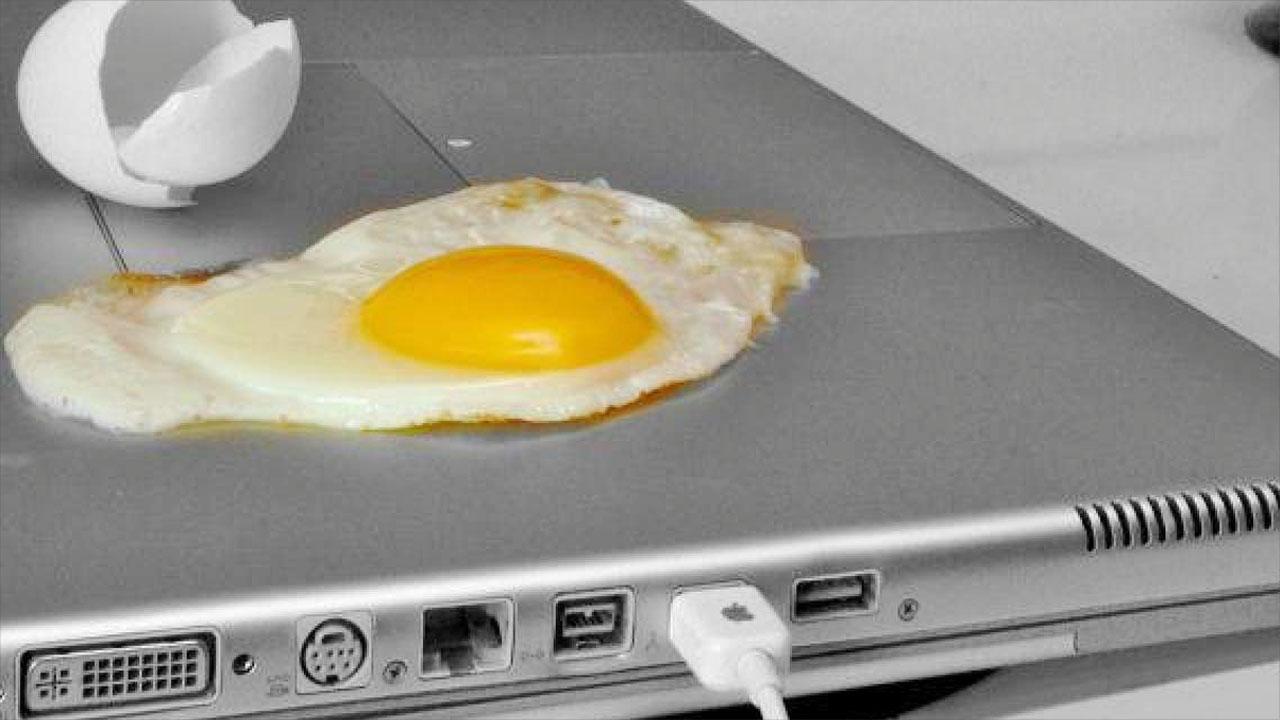 laptop melegedes forrosodas