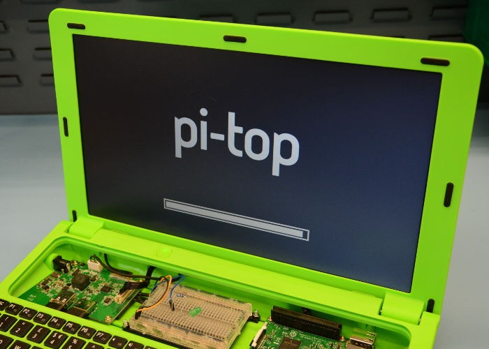 pi top laptop notebook