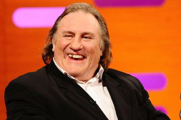 Gerard Depardieu during the filming of the Graham Norton Show-756585.jpg