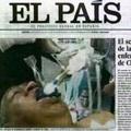 Hamis fotó a haldokló Chávezről az El País-ban