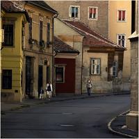 Soproni utcarészlet