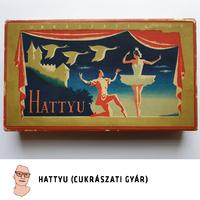 Hattyu (Cukrászati Gyár) díszdoboz