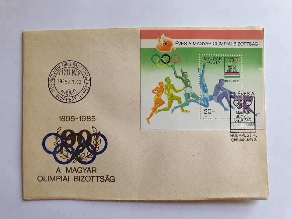 90 éves a Magyar Olimpiai Bizottság (1985.01.02.)