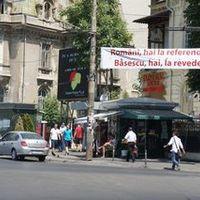 A román elnök visszatér, avagy latin szlogenek ütközete