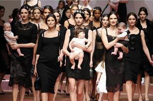 A D&G a kifutón ünnepli az anyukákat