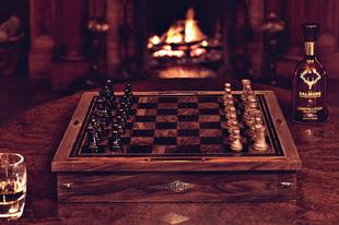 Ilyen sakk-készletet még nem láttál!