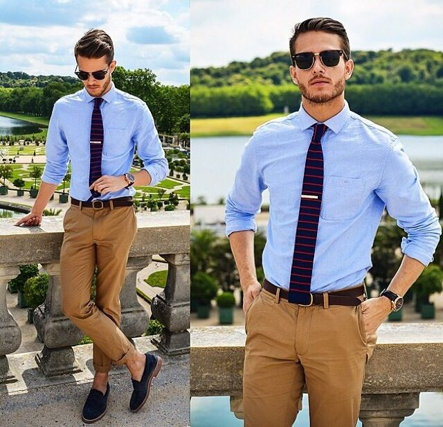 Pofon egyszerű útmutató az ingek és nyakkendők ízléses ... 81ac6de0bb