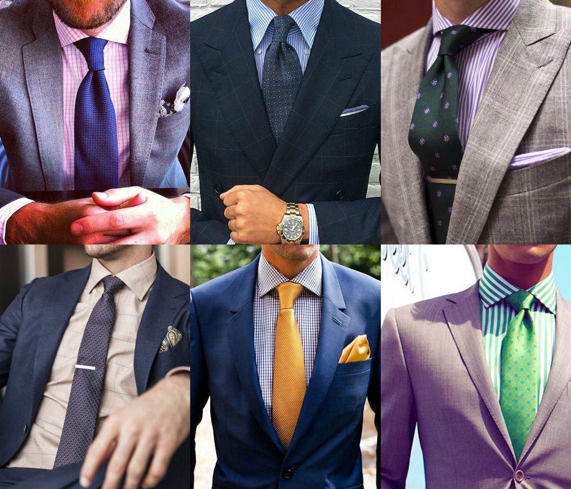 bbbe2bf24a Pofon egyszerű útmutató az ingek és nyakkendők ízléses kombinálásához.