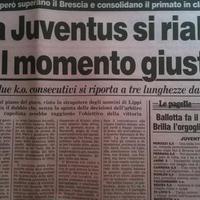 Serie A, 1994-1995: Juventus-Brescia 2-1 (18. forduló)
