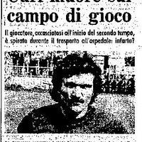 32 éve halt meg Renato Curi