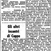 1964. október 28.: Stade Française-Juventus 0-0