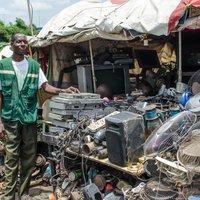Német elektronikai hulladék szennyezi Nigériát