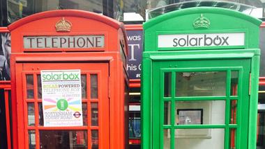 Solarbox telefonfülke
