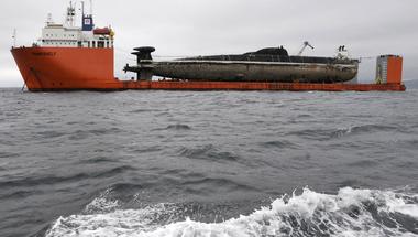 Így végzik a tengeralattjárók