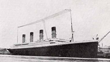 A Titanic rádiós szobája