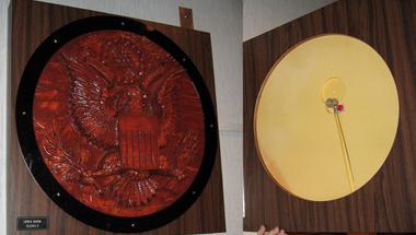 Különleges ajándék az amerikai nagykövetség részére