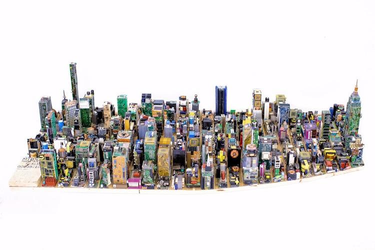 Zayd Menk zimbabwei diák Manhattan városát építette meg