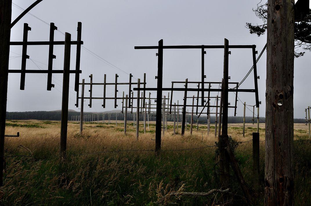 Több kilométer hosszú antennarendszer