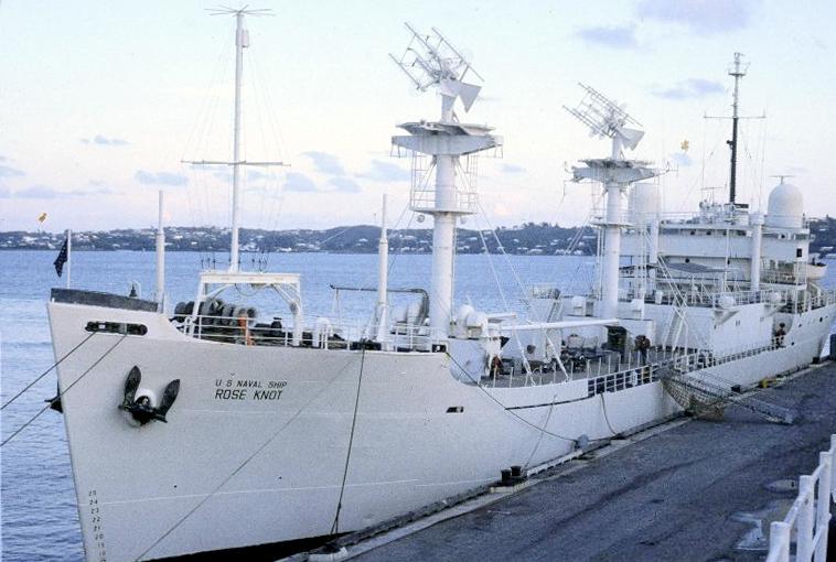 T-AGM-14 (1950-1969) USNS Rose Knot
